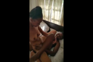 Lesbian enjoying traporn